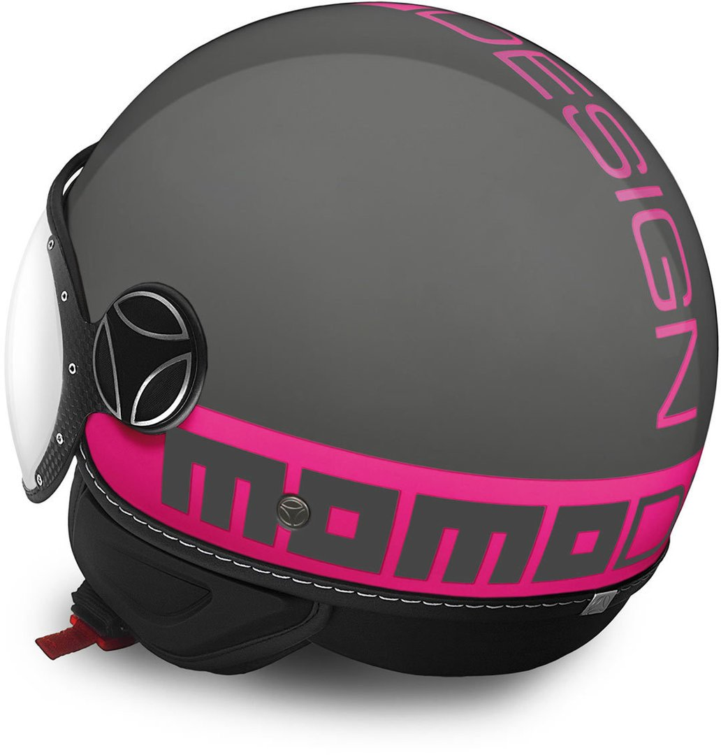 L Grey//Fuxia Momo 10010040286 Motorradhelm