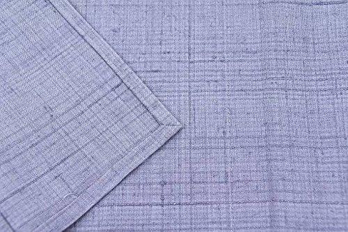 リサイクル 真綿紬 中古 正絹 単衣 つむぎ 無地 裄63cm 紫系 裄Sサイズ 身丈Sサイズ ll0316a15