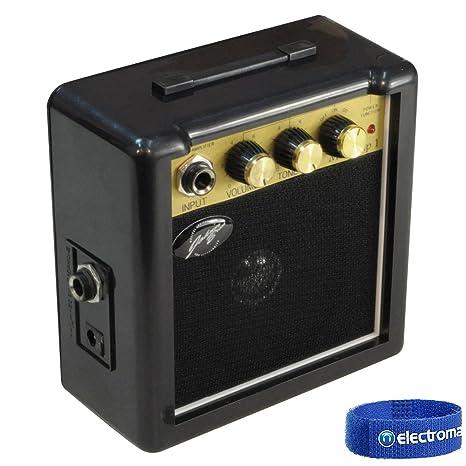 Johnny Brook JB704 - Mini Amplificador para Guitarra con Clip para Cinturón (3 W)