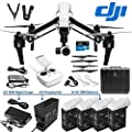 DJI Inspire 1 Single Remote DREAM COMBO includes DJI Charging Hub, 4X TB48 battery and 180W Rapid Charger Inspire 1 Drone Quad Copter Quadcopter with 4K camera, gimbal, carrying case