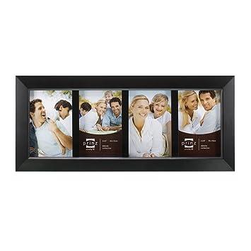Amazon.com - Prinz 4-Opening Dakota Black Wood Collage frame for 4 ...