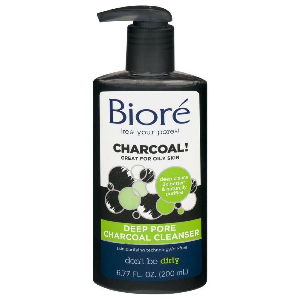 Bioré Deep Pore Charcoal Cleanser 200 ML KAO 2011700