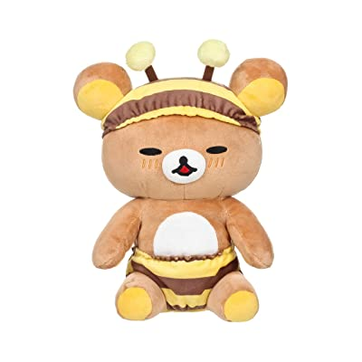 "Rilakkuma San-X Licensed Honey Bee Laydown Plush Doll - 11.5"": Toys & Games"
