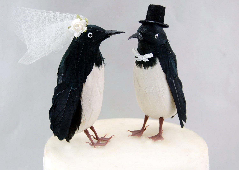 Amazon.com: Fancy Penguin Cake Topper: \