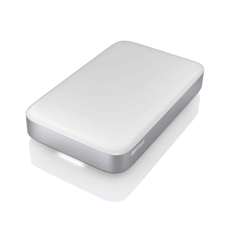 Buffalo MiniStation Thunderbolt USB 3.0 1 TB Portable Hard Drive (HD-PA1.0TU3) by BUFFALO