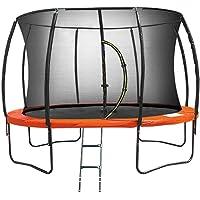 Kahuna Trampoline 10 ft Safety Pad Mat Net - Orange