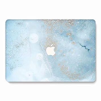 AQYLQ Funda MacBook Pro 13 Retina para Modelo: A1502 y A1425, Ultra Delgado Carcasa Rígida Protector de Plástico Cubierta, Acabado Mate, DL70 Azul ...