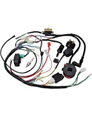 amazon wiring harnesses electrical automotive 2004 Ford Ranger Electrical Schematic goofit ignition rebuild kit wiring harness for 50cc 90cc 110cc 125cc chinese atv quad bike go