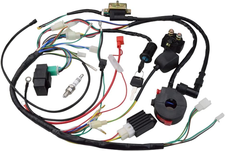61Ky785pFRL._AC_SR201266_ amazon com wiring harnesses electrical automotive wiring harness rebuild at readyjetset.co