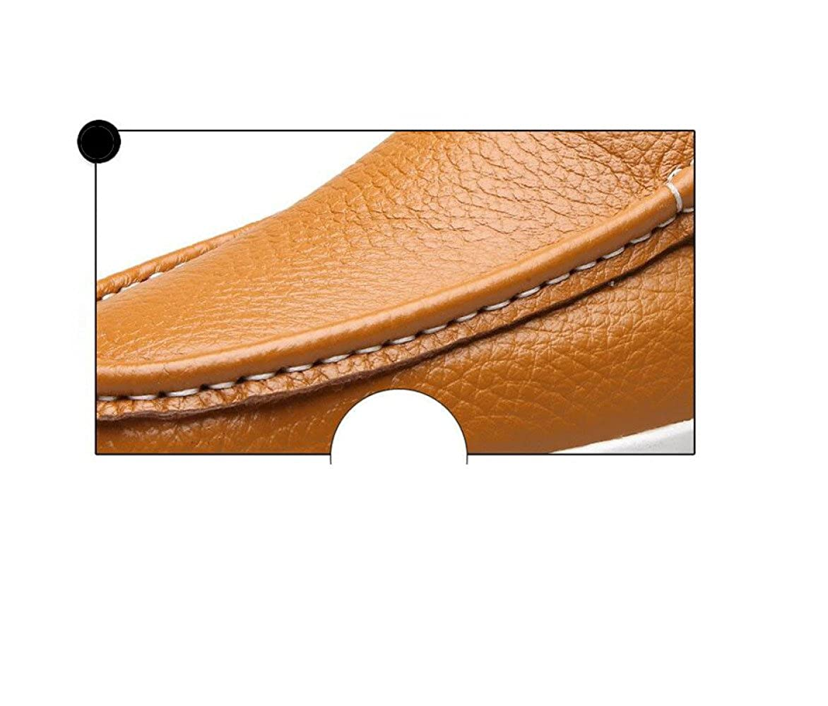 Casual Weiche Mann Lederschuhe Business Runde Weiche Casual Spitze Band Saison Farbe Canvas Sport Sandalen Stiefel schwarz e8bf0d