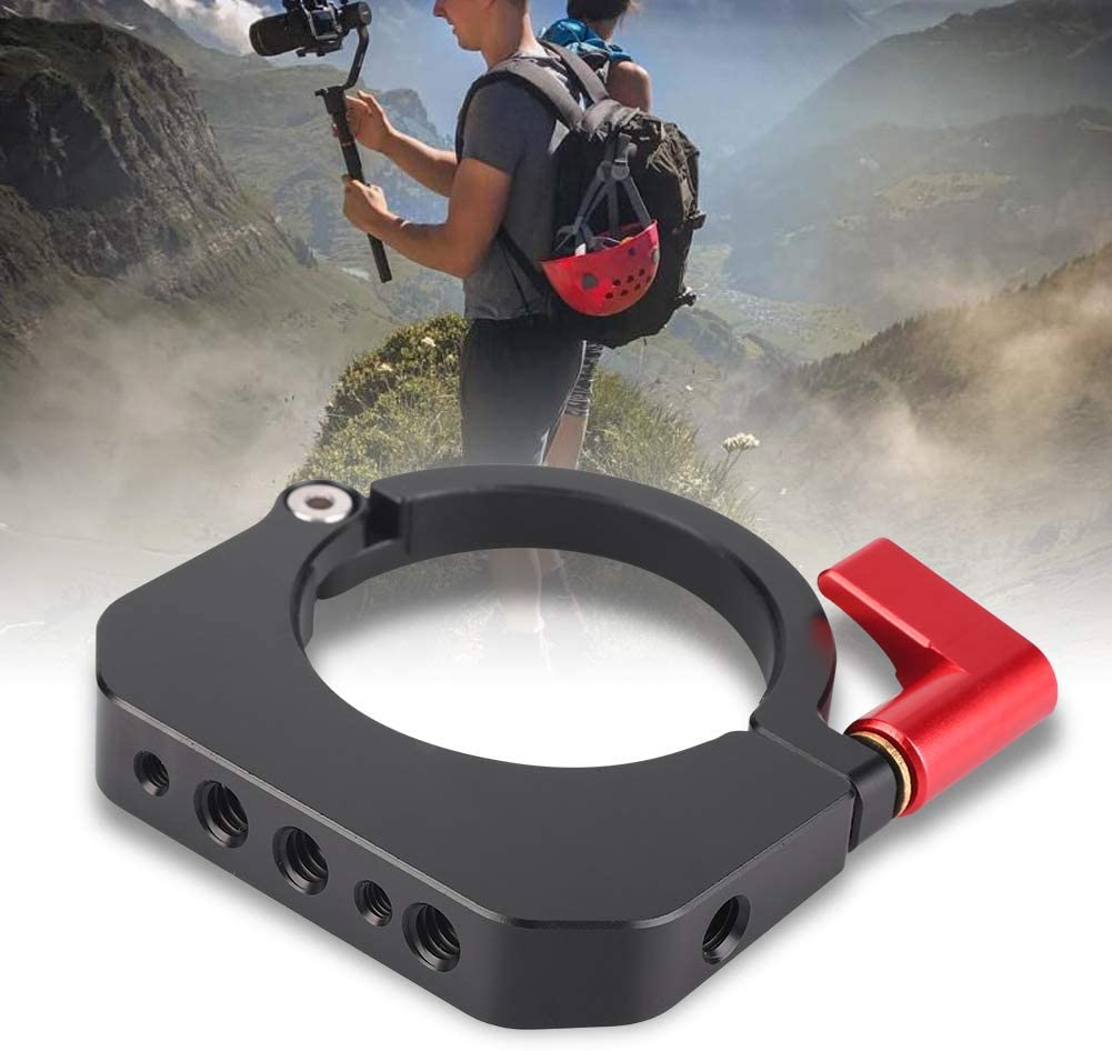 Stabilizer Extension Ring Solid Durable Extension Mounting Ring with 1//4 Thread Accessory for Moza Air 2 Stabilizer