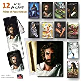 Prince of Peace Gift Set -Card, Bookmark, 10 Magnets- featuring the image of Jesus painting by Akiane Kramarik - Colton Burpo from Heaven Is for Real Book & Movie says this is the Real Face of Jesus