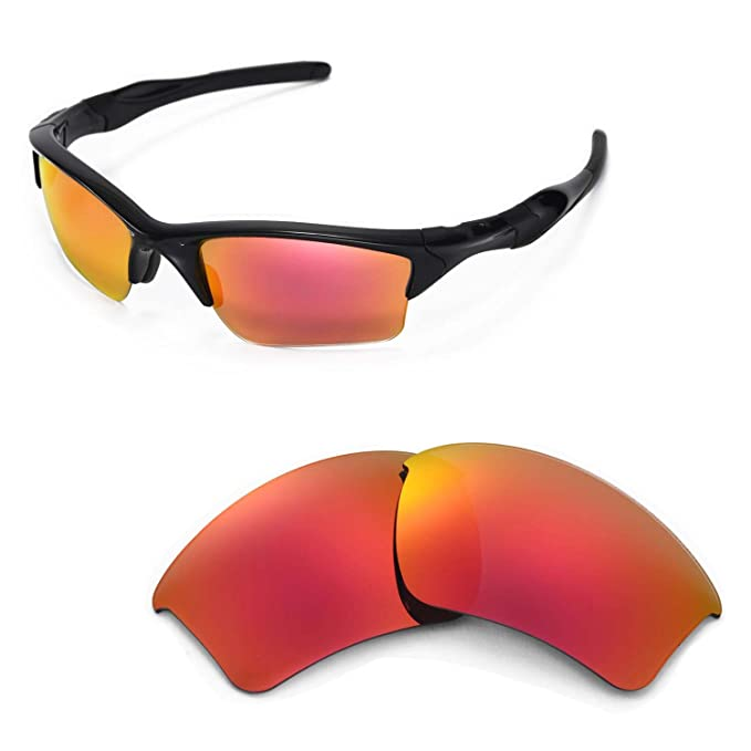 a8fc613a2e Image Unavailable. Image not available for. Color  Walleva Replacement  Lenses for Oakley Half Jacket 2.0 ...