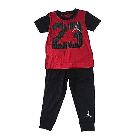 Baby Boy Jordan Clothes Mesmerizing Amazon Jordan Jumpman 60 Logo Toddler Boys TShirt And Pants