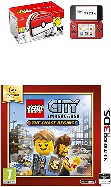Nintendo New 2DS XL - Consola Edición Pokéball + LEGO City: Undercover (Nintendo Selects): Amazon.es: Videojuegos
