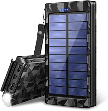 Cargador De Energía Móvil Solar Cargador De Batería Solar ...