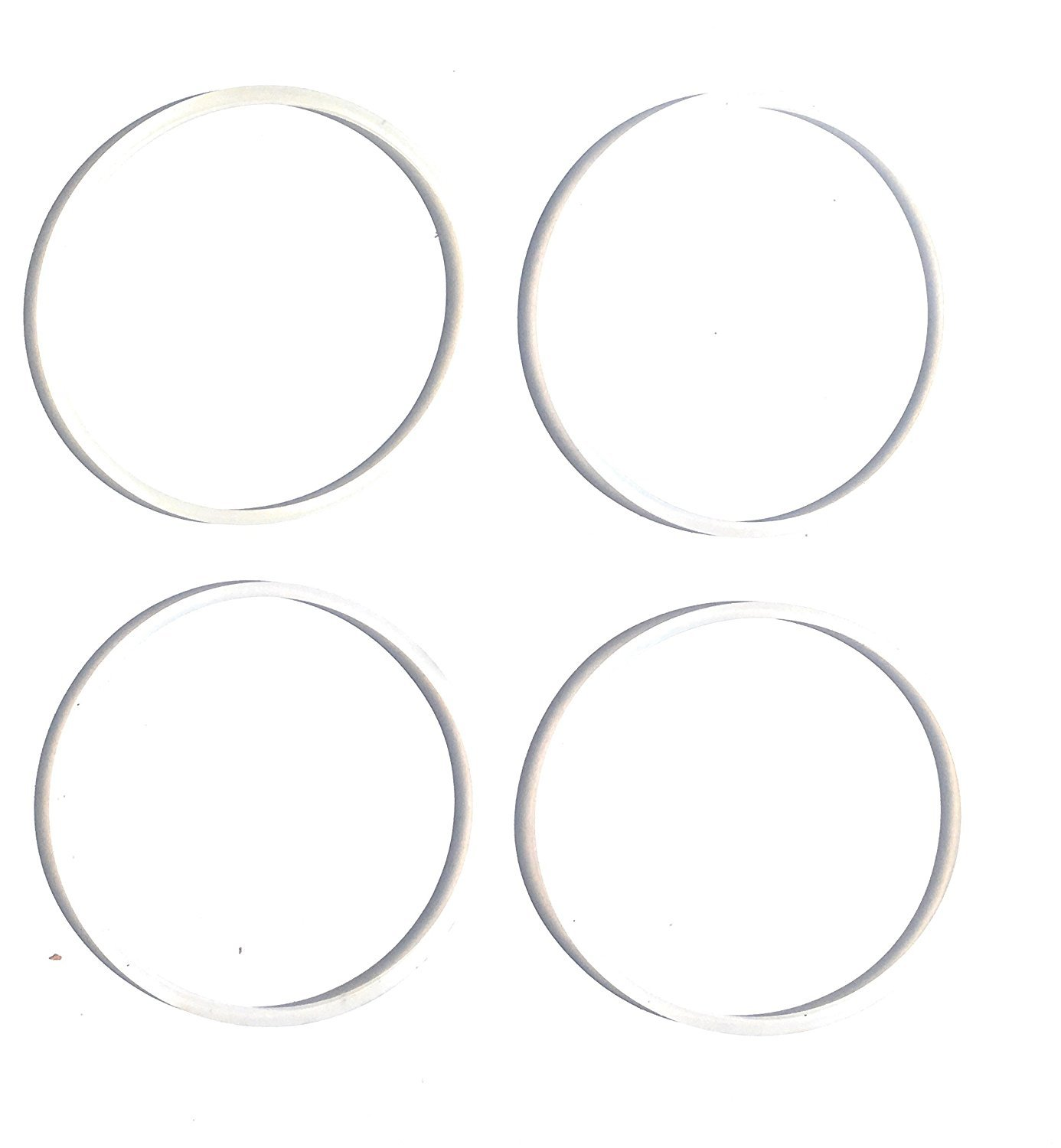 Fab International 4 Pack Replacement Gasket Compatible with Cooks 5-in-1 Power Blender Gaskets (AFTER MARKET PART)