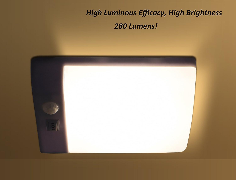 Plafoniere Per Camper 12v : Facon led v luce notturna a con sensore pir di auto