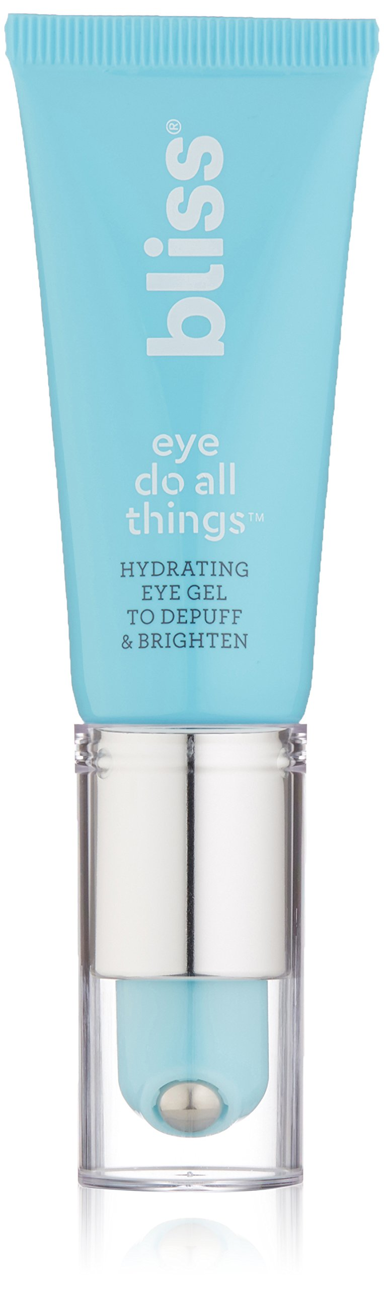 Bliss Eye Do All Things Hydrating Eye Gel Depuff & Brighten Straight-from-the-Spa Paraben Free, Cruelty Free 0.7 fl oz