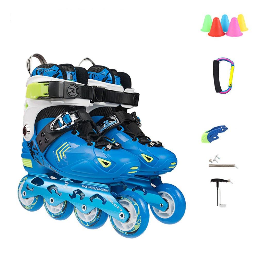 kele Roller skates,Children's suit,Outdoor skating for beginners for boys girls and women- outdoor-indoor-A S adjustable (31-34) code