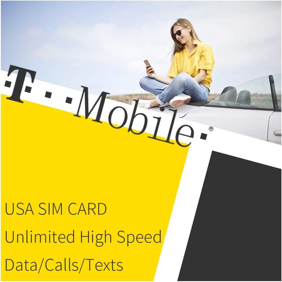 Tarjeta SIM de T-Mobile USA Datos ilimitados: Amazon.es: Electrónica