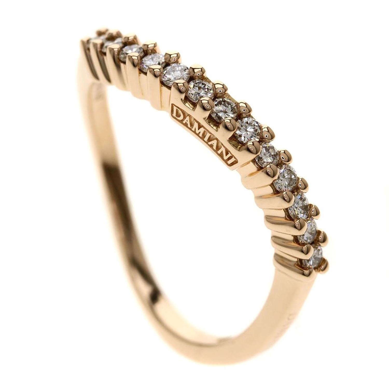 [ダミアーニ]ダイヤモンド/ウェーブ リング指輪 K18ピンクゴールド レディース (中古) B07F288K5S