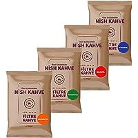 Nish Filtre Kahve Tadım Seti-1 80 gr x 4