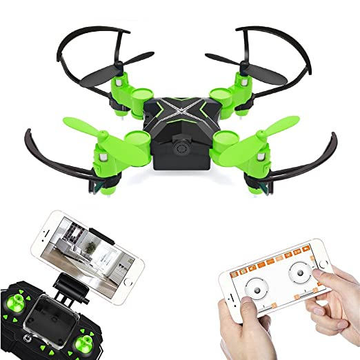 Metakoo MiNi Quadcopter Drone con cámara de vídeo en directo WiFi ...