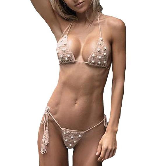 Bikini set,VENMO Mujer Sexy traje de baño empujar hasta bikini Vestidos De Baño Ropa