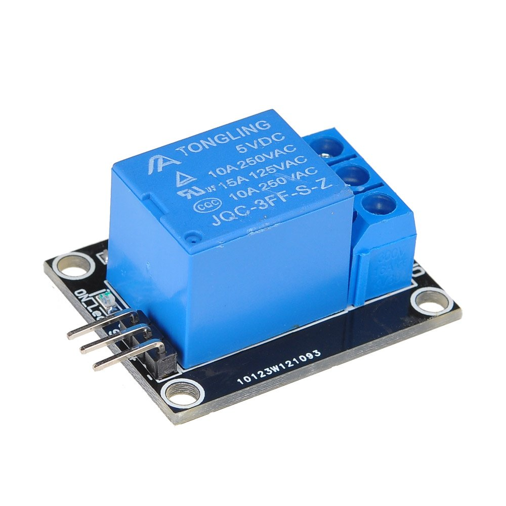 Lysignal 1 Channel 5V Relay Module Relay Board with Indicator Light LED for SCM Household Appliance Control LYCHEE LIMITED