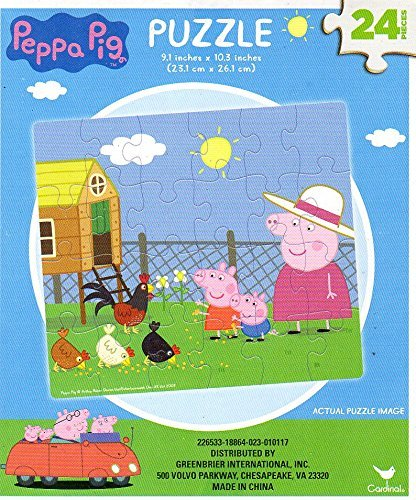 (Peppa Pig - 24 Pieces Jigsaw Puzzle - v3)