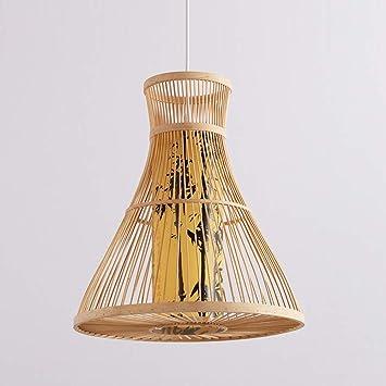 DECORATZ Simple Nuevo Jardín Chino de Bambú Pedant Light ...