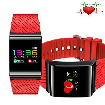 LIGE Reloj Inteligente Pulsera de Fitness Monitor de ritmo ...