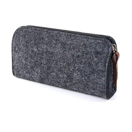 ASCZFAS bolsa de lápiz Fieltro bolsa de tela con lápiz caja ...