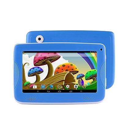 Springdoit Ordenador Android para niños de 7 Pulgadas y cuádruple núcleo Tableta portátil para niños con