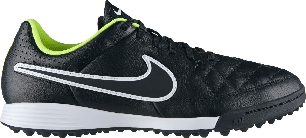 Nike TIEMPO GENIO LEATHER TF GRY MST/TTL ORNG-PNK PW-DV GRY  7.5