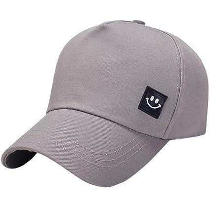 b9f1c496254 Image Unavailable. Image not available for. Color  SPE969 Unisex Men Women  Smile Baseball Cap Snapback Hat Hip-Hop Adjustable Caps