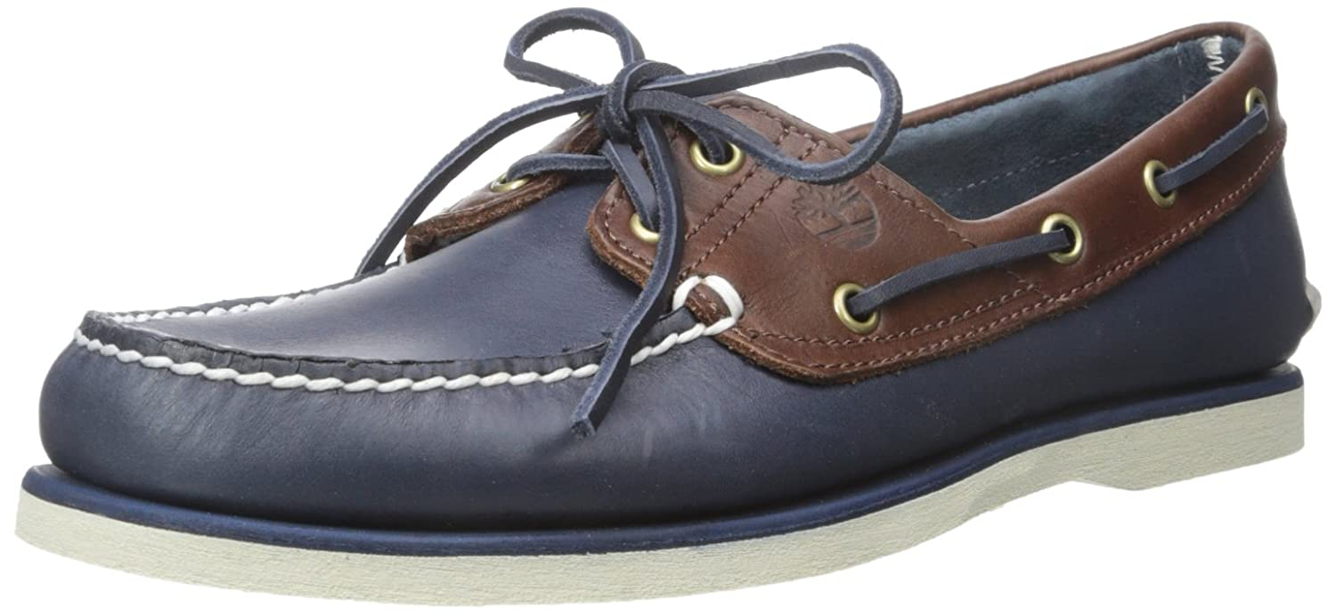 Timberland Timberland Timberland Herren Classic Boat 2 Eyevintage Indigo and Potting Soil Two-Tone Stiefelschuhe B011LPP2AK  21d70e