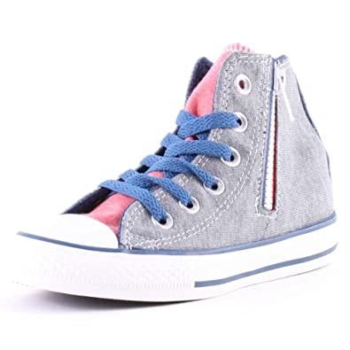 CONVERSE ALL STAR CHUCK TAYLOR CT SIDE ZIP HI KINDER SCHUHE