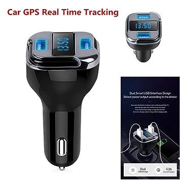 Amazon.com: Cargador/rastreador GPS para coche/vehículo ...