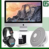 Apple 27 iMac with Retina 5K Display (Late 2014) + Sony MDR-7506 Headphone + JBL Voyager Portable Wireless Bluetooth Speaker (White) Greens Camera Bundle 31