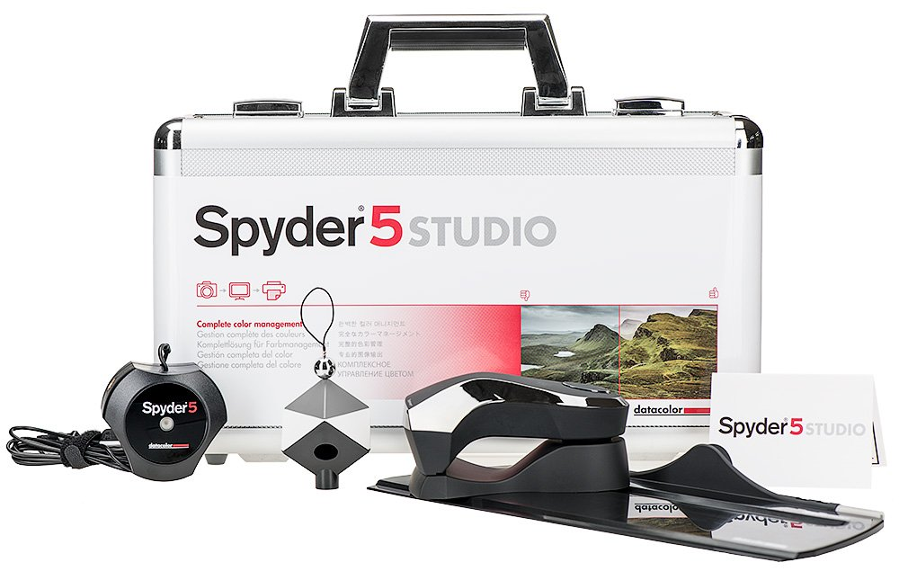 Datacolor S5SSR100 Spyder5STUDIO Color Calibration Kit by Datacolor