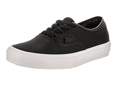 Vans Unisex Authentic DX (Square Perf) Black Skate Shoe 4 Men US/5.5