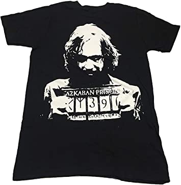 Bioworld Camiseta Basic Sirius Black - Prisionero de Azkaban - Harry Potter - M: Amazon.es: Juguetes y juegos