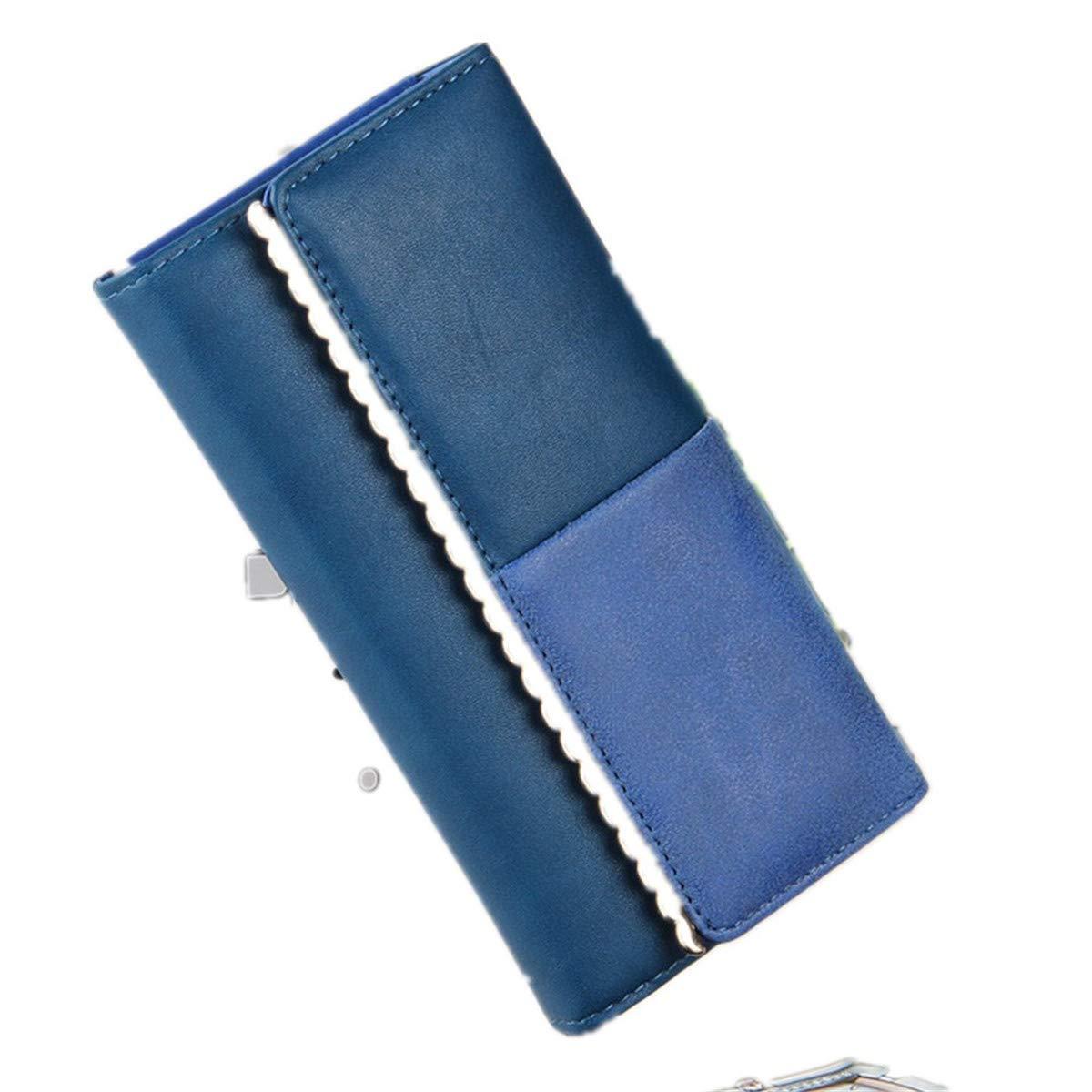 Women's Long Leather Card Holder Purse Wallet
