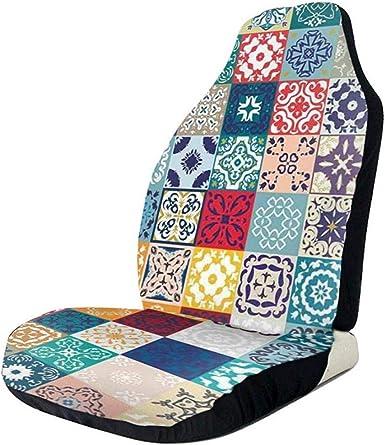 Fall Ing Fundas de asiento de coche Patchwork Vintage Lisboa ...