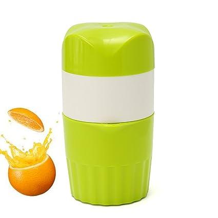 Exprimidor manual de naranjas y limones Tapcet, portátil, seguro, multifuncional,