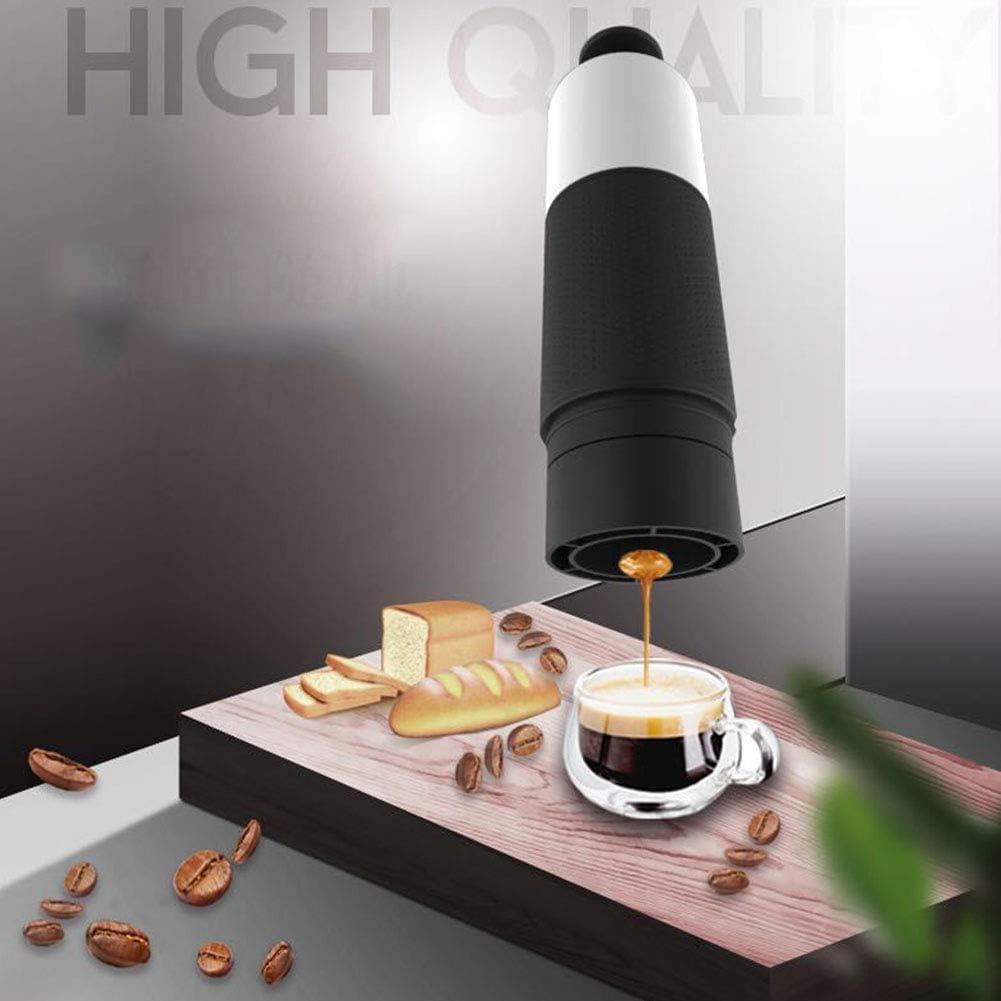 Viaggio Per Casa Caffettiera A Capsule Capsula Ufficio Portatile Macchina Per Caff/è Espresso 21 Bar Nessuna Alimentazione Elettronica Esterno Mini Tenuto In Mano Manuale