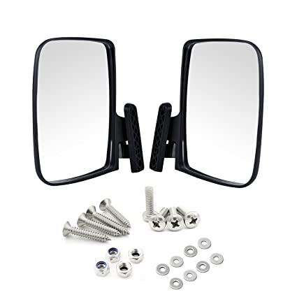 Amazon.com: Universal Golf Cart Side View Mirrors for EzGo Club Car on
