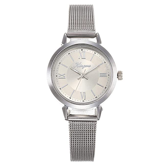 Amazon.com: LUCAMORE - Reloj de pulsera para mujer, malla de ...
